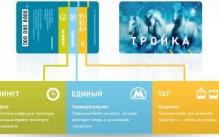 Карта Тройка: тарифы и стоимость в 2020 году – метро единый на 60 поездок