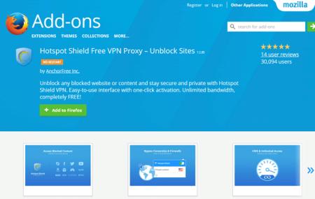 VPN для Firefox бесплатно для обхода блокировки