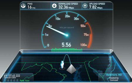 Как измерить скорость интернета Ростелеком на этом компьютере