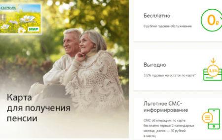 Социальная карта «Мир» Сбербанка для пенсионеров в 2021 году: подробное описание