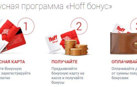 hoff.ru/bonus активировать карту «Хофф бонус»