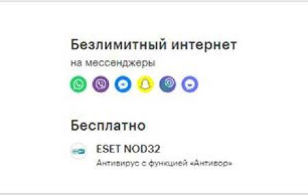 Тарифы Мегафон Смоленск и Смоленская область в 2021 году