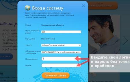 Сетевой город Нижний Тагил – электронный дневник «sgo.egov66.ru»