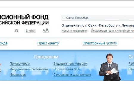 www.pfrf.ru личный кабинет пенсионера – вход и регистрация