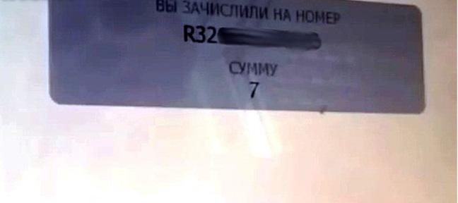 подтверждение перевода с терминала на вебмани кошелек