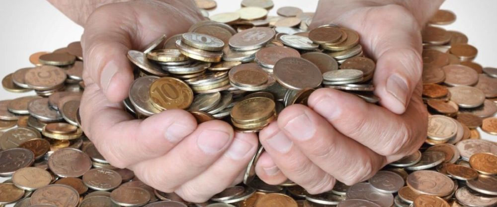 обмен монет в сбербанке на купюры