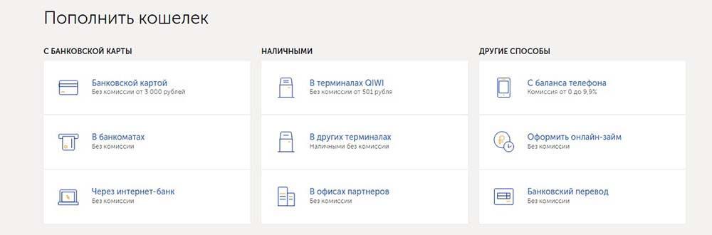 создать киви кошелек украина
