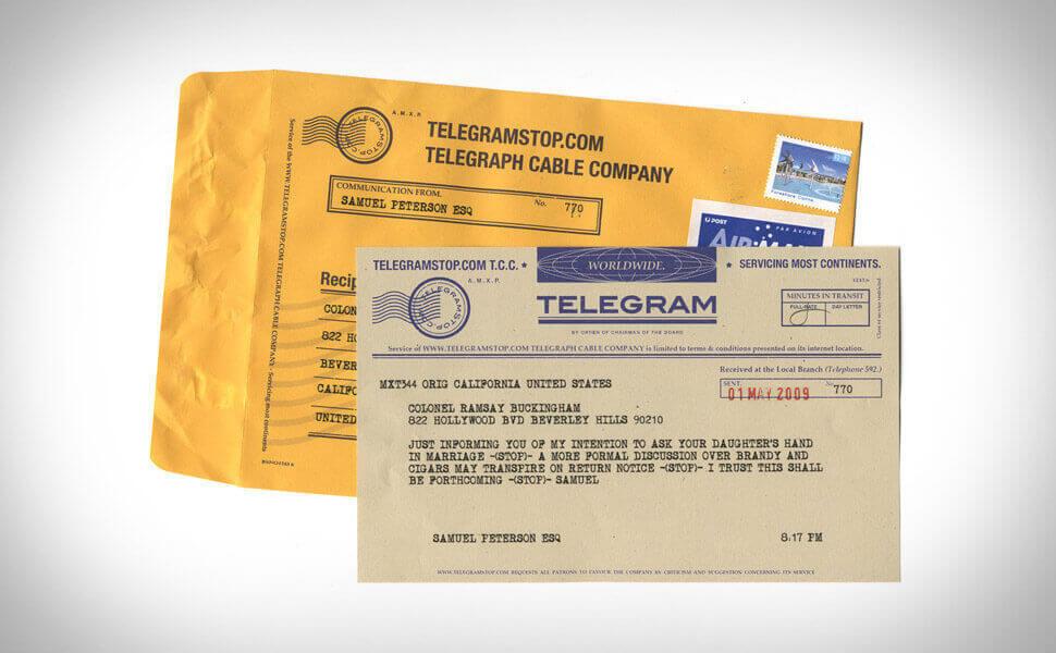 отправить телеграмму по телефону ростелеком