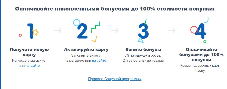 detmir ru зарегистрировать и активировать карту