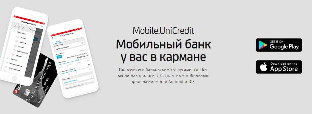 горячая линия юникредит банк москва