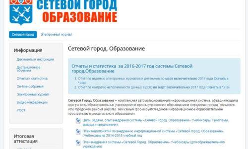 сетевой город образование мордовия