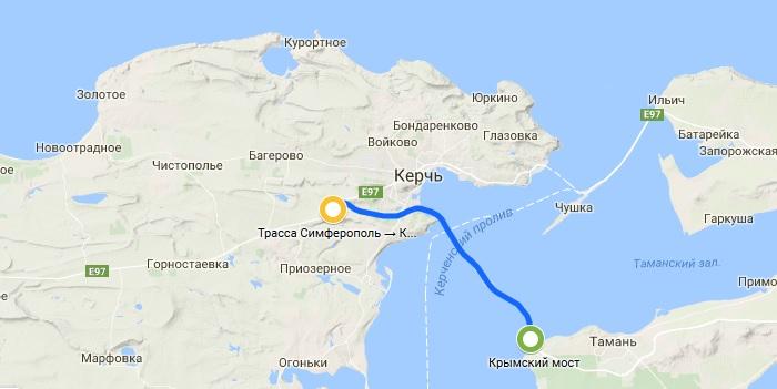 цена проезда по крымскому мосту
