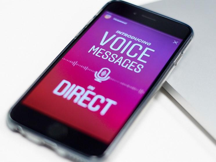голосовые сообщения в инстаграме