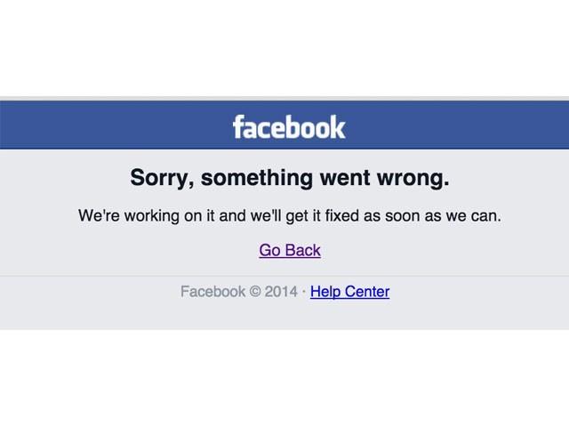 фейсбук не работает сегодня 2020