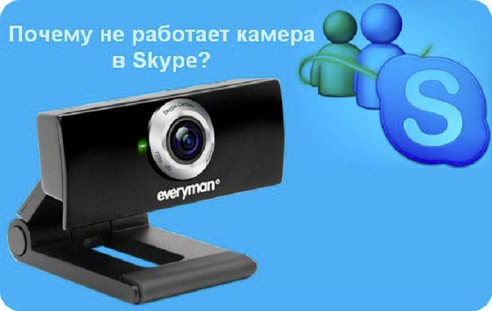 скайп не работает камера windows 10